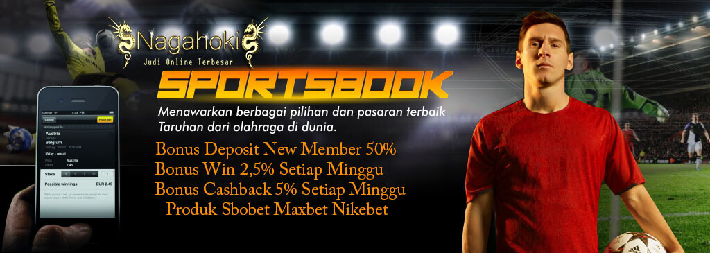 Bonus New Member Sportsbook 50%